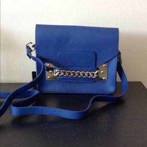 Handbags - New leather blu hulme chain crossbody shoulder bag